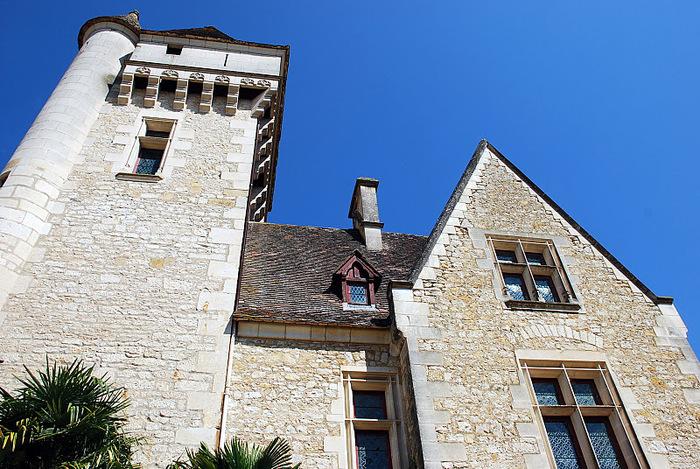 замок в Миланде (Chateau des Milandes). 72222