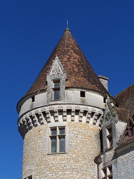 замок в Миланде (Chateau des Milandes). 88690
