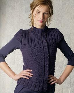 Вязание жилета спицами для женщин.