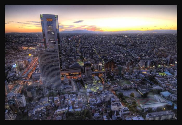Осень Токио