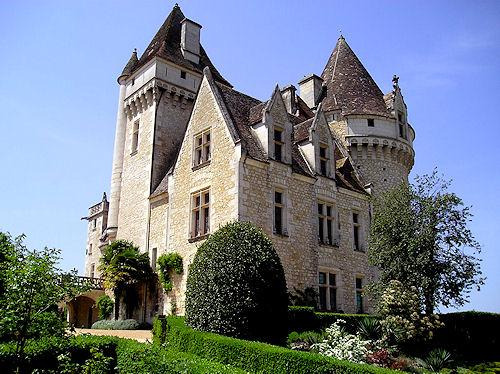 замок в Миланде (Chateau des Milandes). 12784