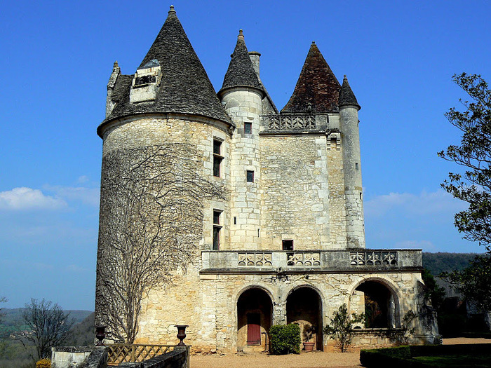 замок в Миланде (Chateau des Milandes). 97834