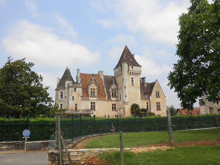 замок в Миланде (Chateau des Milandes). 38444