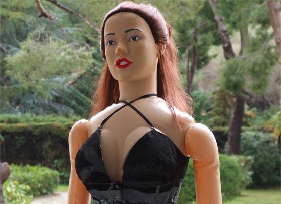 Надувная женщина сексвидео, самодельный вагинальный расширитель.