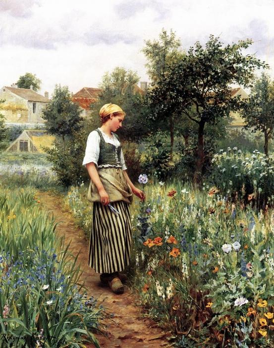 4156496_Knight_Daniel_Ridgway_In_the_Garden (553x700, 379Kb)
