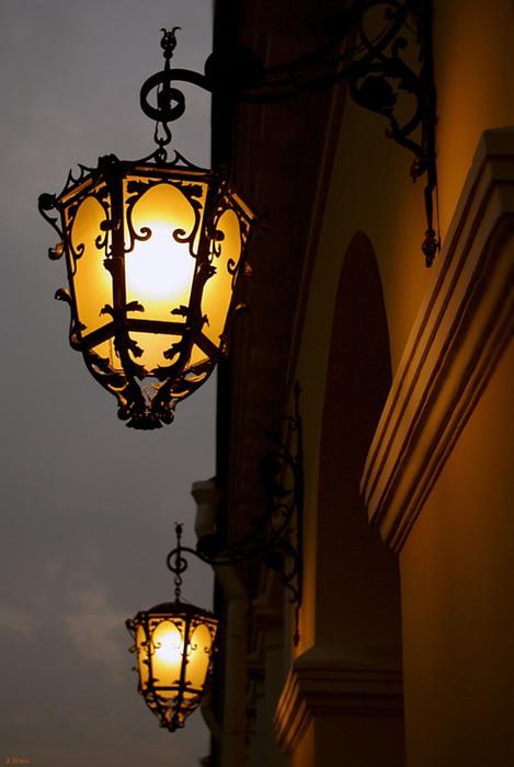 фонарь уличный картинки для детей