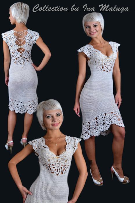 Белое платье (466x700, 283Kb)