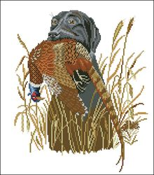 3937664_Eva_RosenstandHunting_dog_and_pheasant_1_ (220x250, 16Kb)