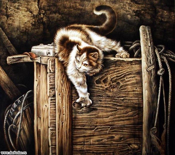 Ноев ковчег в гохуа.