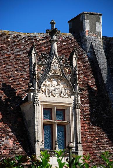 замок в Миланде (Chateau des Milandes). 68446