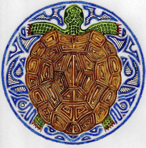 mandala tortue (504x512, 149Kb)