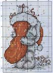 Подборка схем для вышивки крестом - мишки Forever Friends от Anchor.