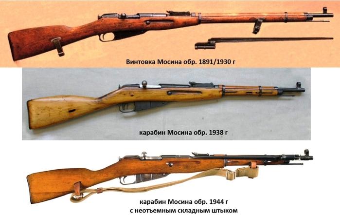 07 винтовки 1930 г (700x445, 159Kb)