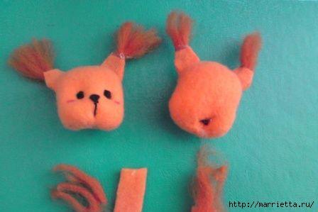 Мягкие игрушки белочка своими руками 60