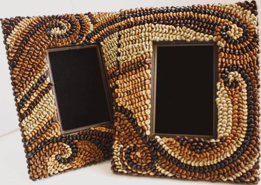 Кофейная рамка своими руками фото