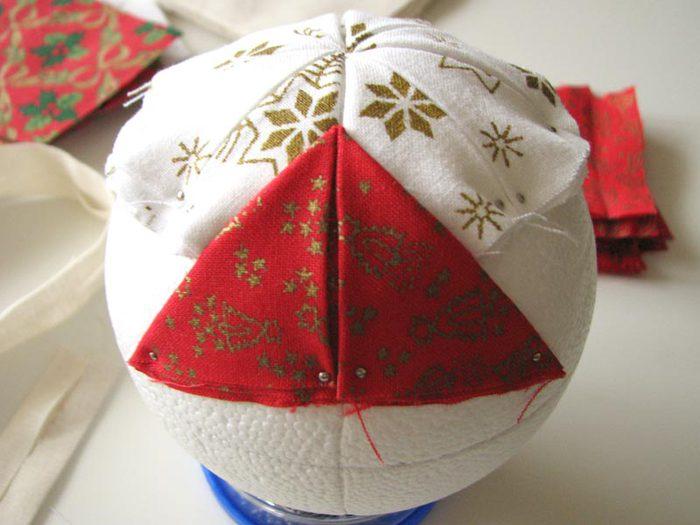 Новогодние шары своими руками мастер класс из
