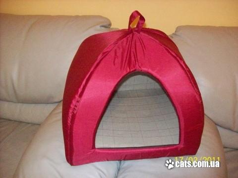Пошить домик для кошки