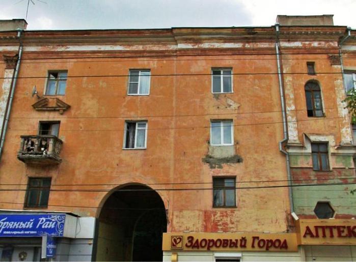 Воронеж, фото дома до реконструкции, 3 (699x515, 57Kb)