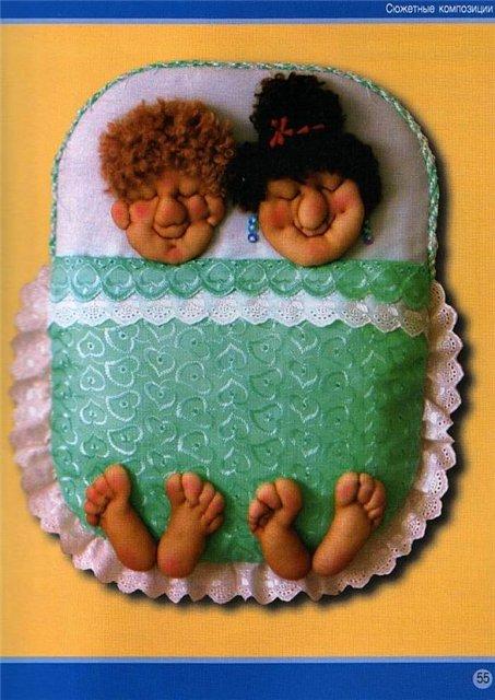 Куклы из колготок и синтепона
