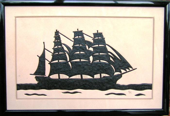 039 Sailing Ship Silhouette (700x478, 157Kb)