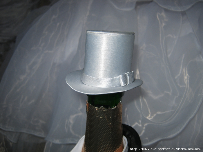 Как сделать своими руками шляпу на бутылку 84
