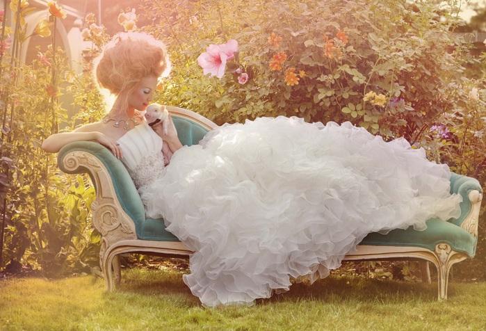 наряды для девочек платье