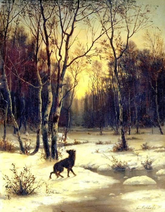 зимний пейзаж (544x700, 90Kb)