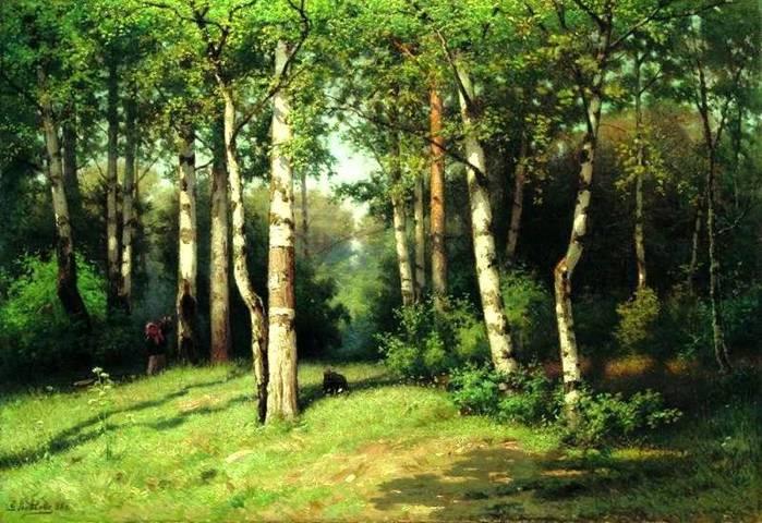 полдень в лесу (700x480, 79Kb)