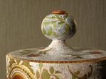 Превью акрил, декупаж, кракелюр, декоративная банка с крышкой, Shraddha 15 (700x525, 223Kb)