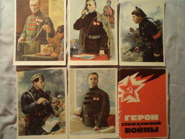 коллекция открыток: