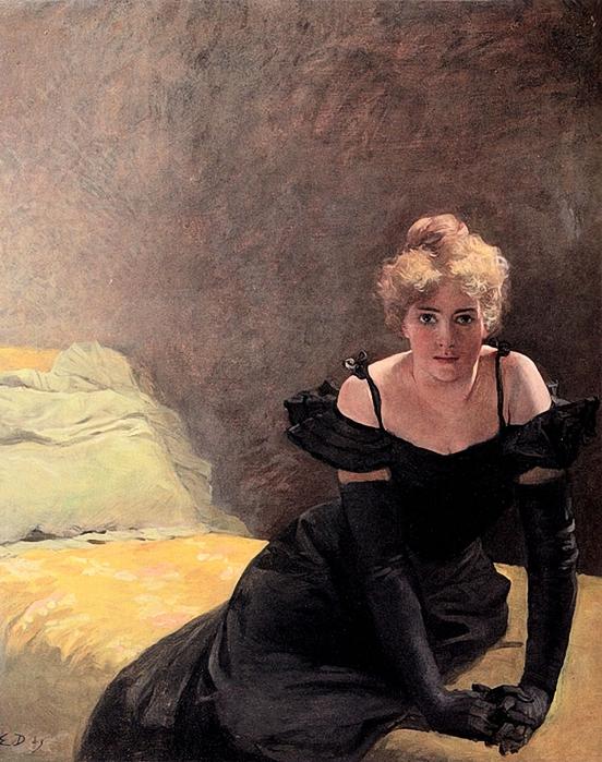 Emile Doepler Jnr (1855-1922)la_soire (552x700, 332Kb)
