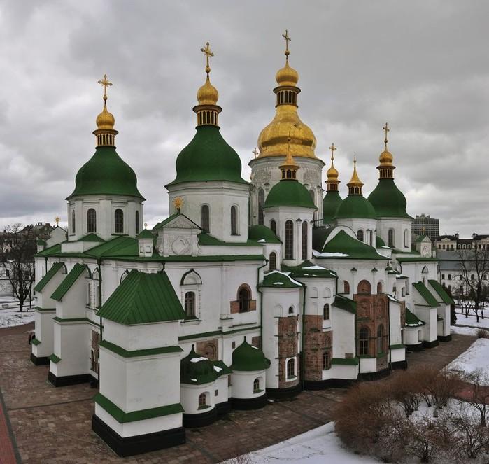 Софийский собор в Киеве. (700x663, 114Kb)