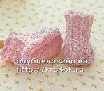 Вязание пинеток крючком спицами со схемами.  Как связать пинетки - Самое интересное в блогах - LiveInternet.