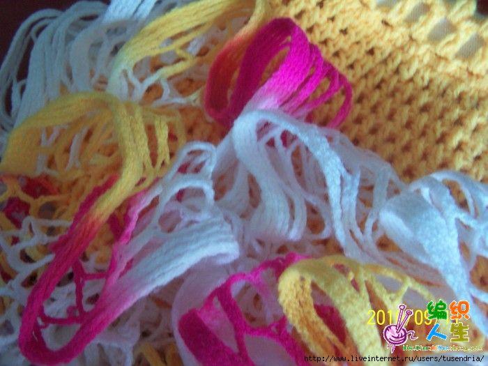 Как вязать ленточной пряжей.  Ленточная пряжа Bolero от Yarn Art и Lanos Stop.  Прочитать целикомВ.