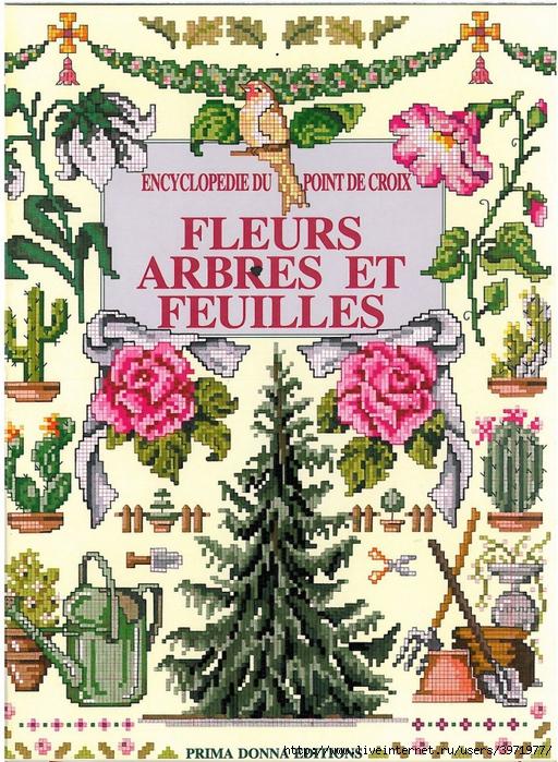3971977_001_Encyclopedie_du_point_de_croix_Fleurs_arbres_et_feuilles (512x700, 434Kb)