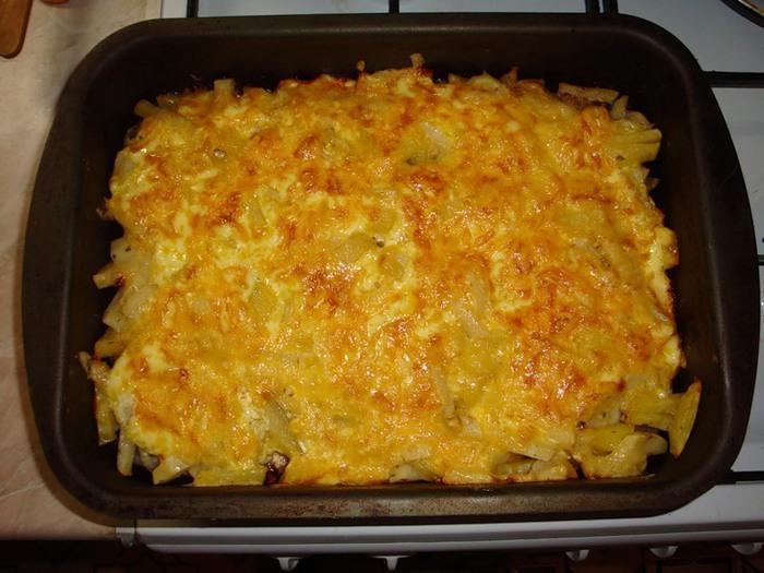 мясо под шубой сырно овощной (700x525, 103Kb)