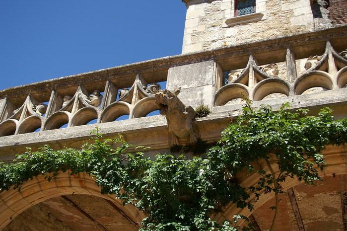 замок в Миланде (Chateau des Milandes). 63723