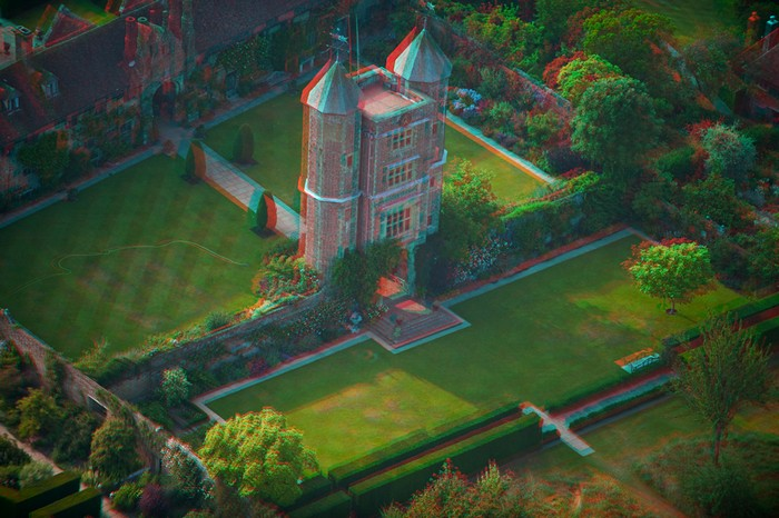 Англия - фото 3d анаглиф самых красивых мест
