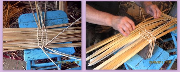 Плетение из тростника