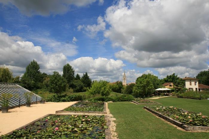 Есть в графском парке тихий пруд..... Там лилии цветут . .Ботанический сад Latour - Marliac. 78701