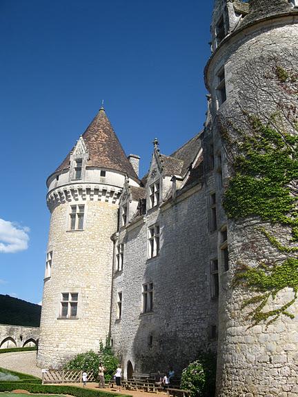 замок в Миланде (Chateau des Milandes). 55543