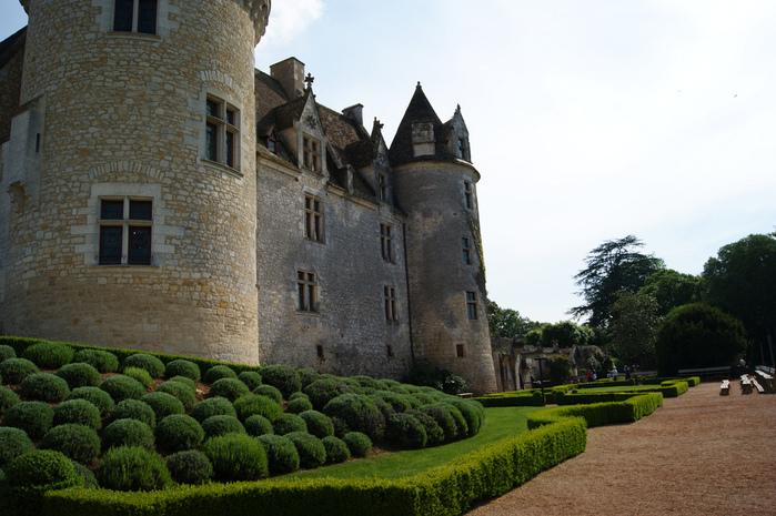 замок в Миланде (Chateau des Milandes). 60173