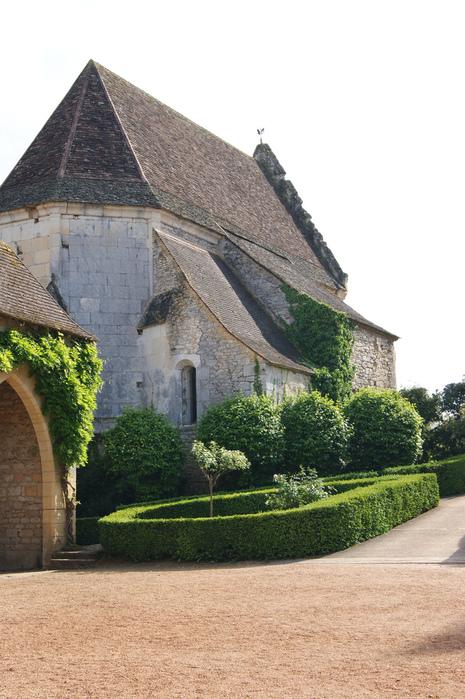 замок в Миланде (Chateau des Milandes). 99621