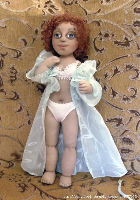 Как сделать капроновую куклу своими руками фото