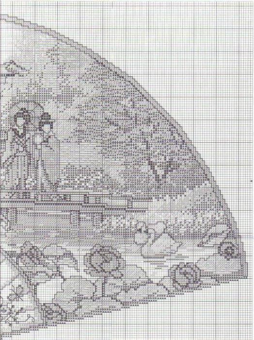 японский сад веер схема6