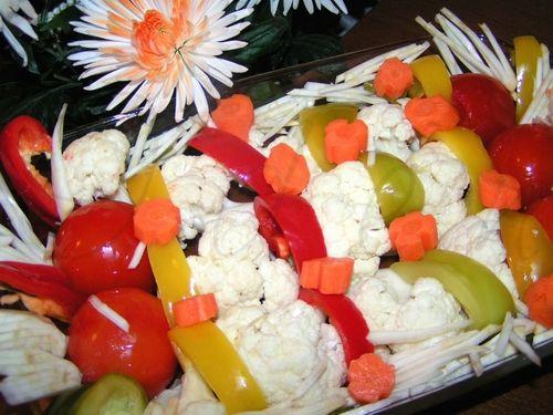 Рецепт - маринованная цветная капуста или ассорти.