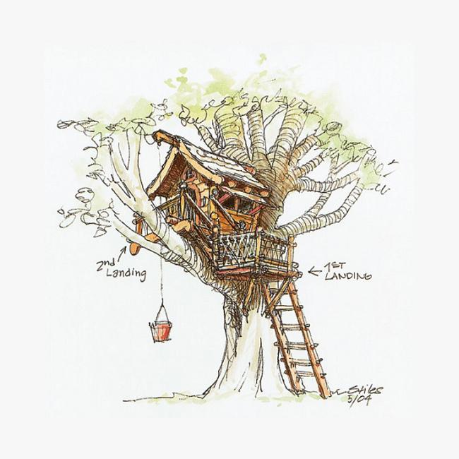 Домик ребенку из дерева сделать 141