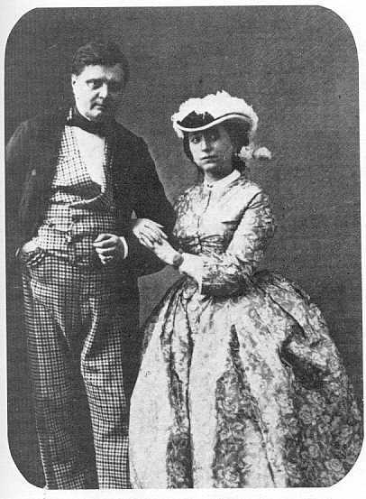 фото Валевского со второй женой (406x553, 35Kb)