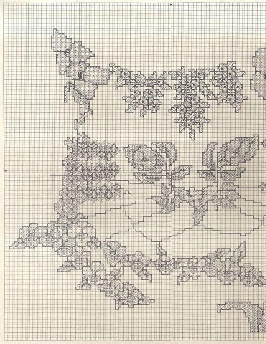 цветочный кот схема 1 (542x700, 111Kb)