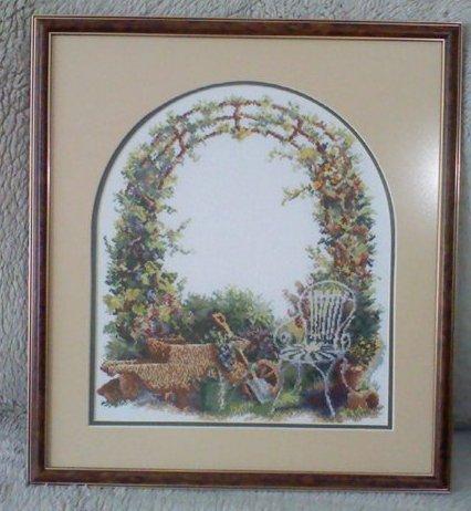 Вышивка крестом арка